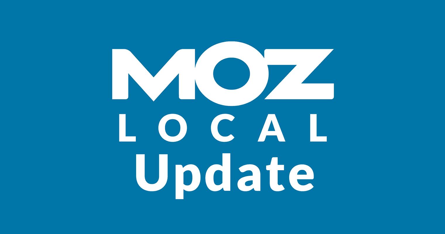 Major Update to Moz Local in June 2019