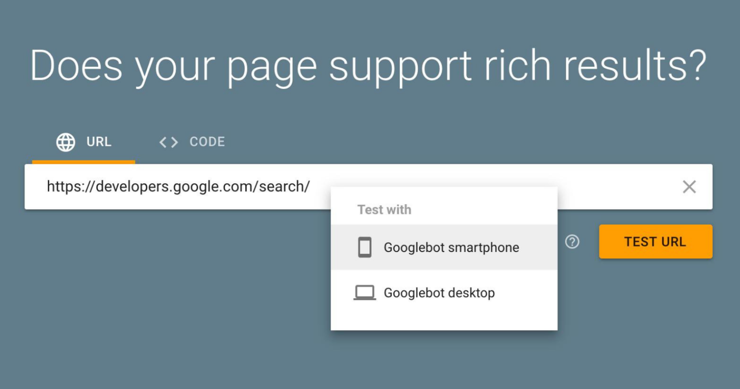 Google's Rich Results Testing Tool Updated With Desktop & Mobile Selector