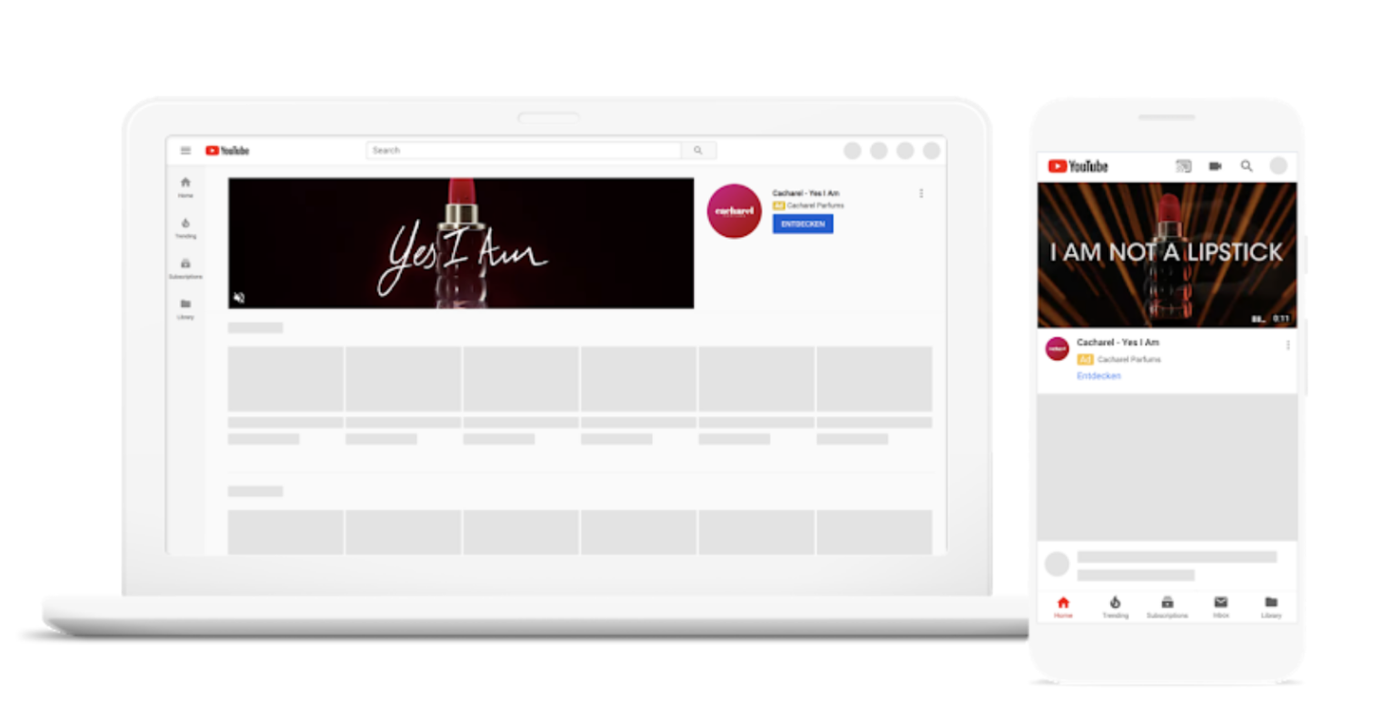 Google Makes YouTube Masthead Ads Available to All Advertisers