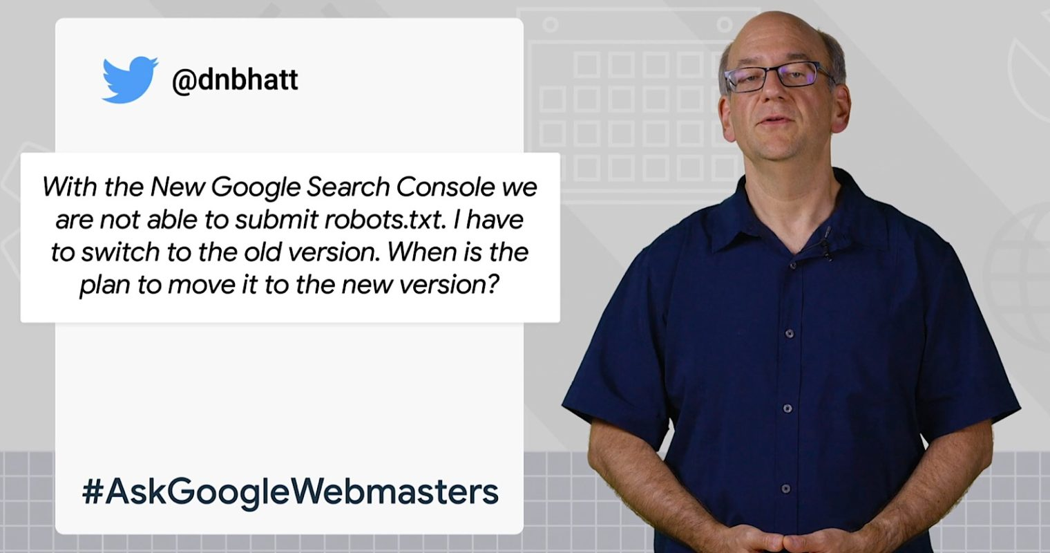 Google Doesn't Intend to Bring All Old Features to the New Search Console