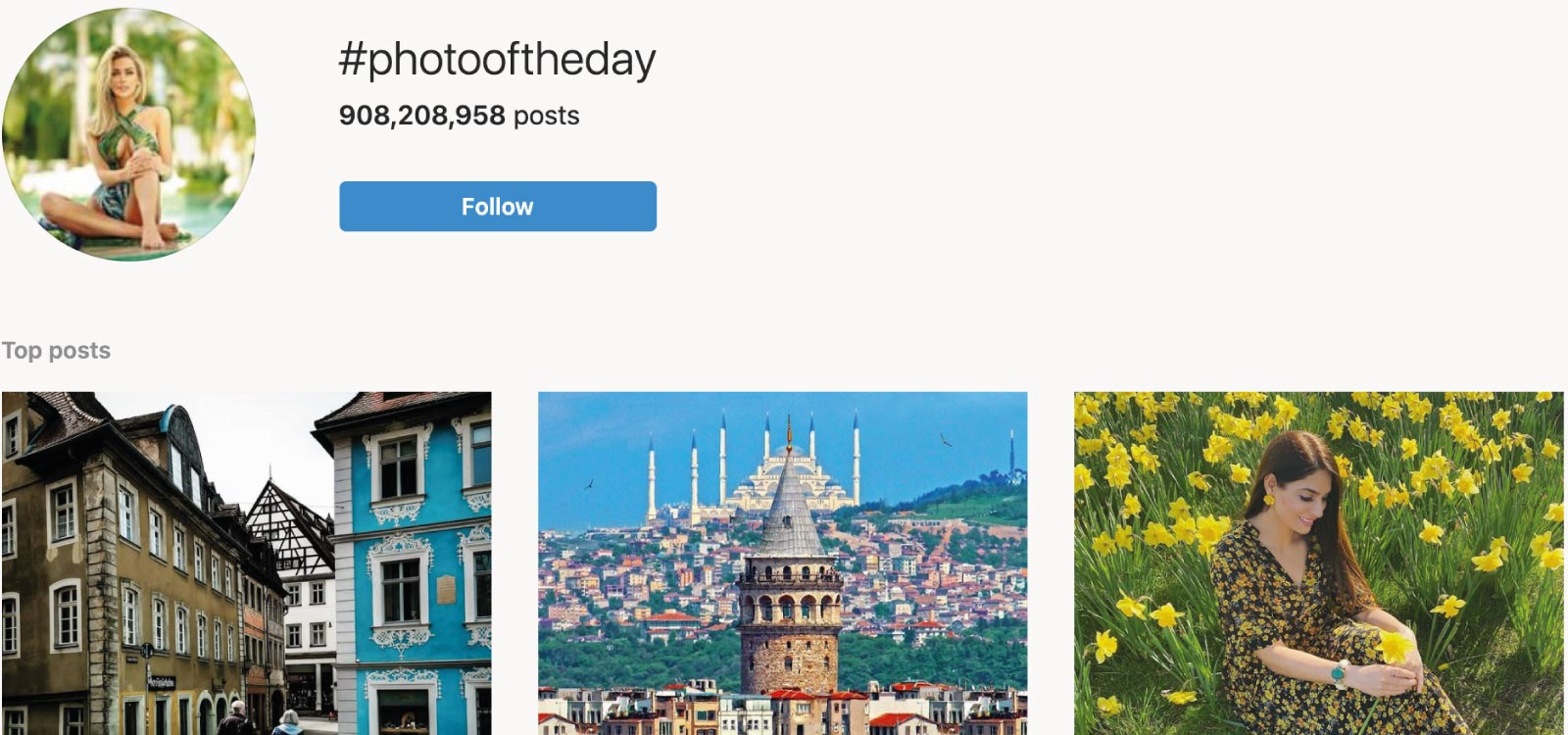 Instagram Statistics and Facts - Hashtags