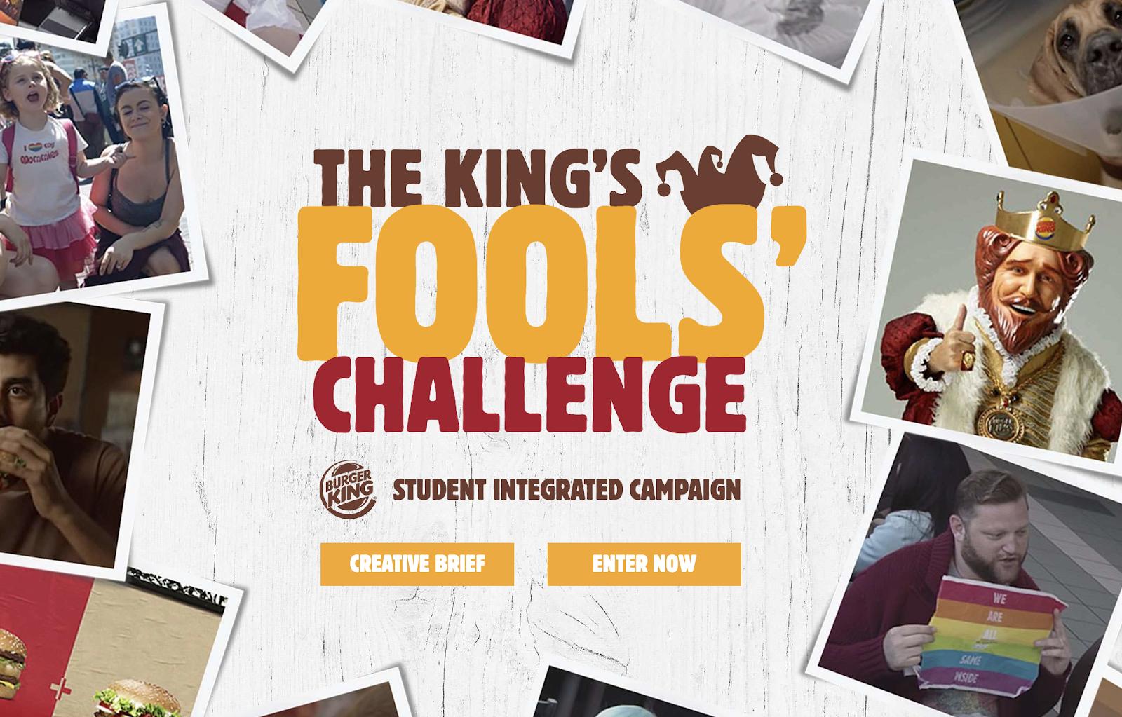 Burger King: The King's Fool's Challenge