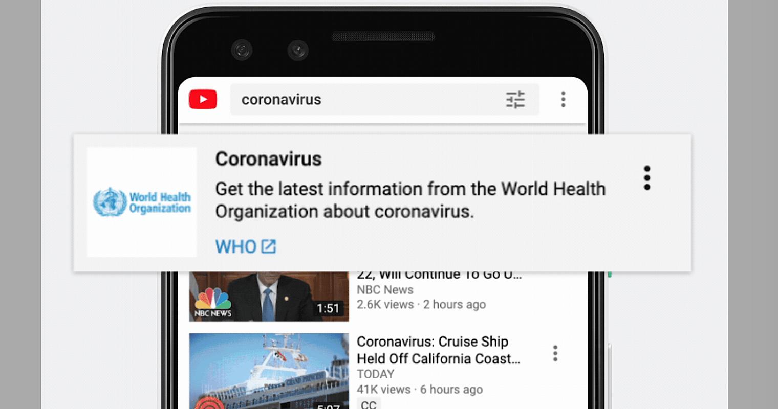 YouTube Allows Creators to Monetize Content About Coronavirus