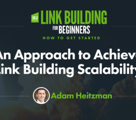 An Approach to Achieve Link Building Scalability