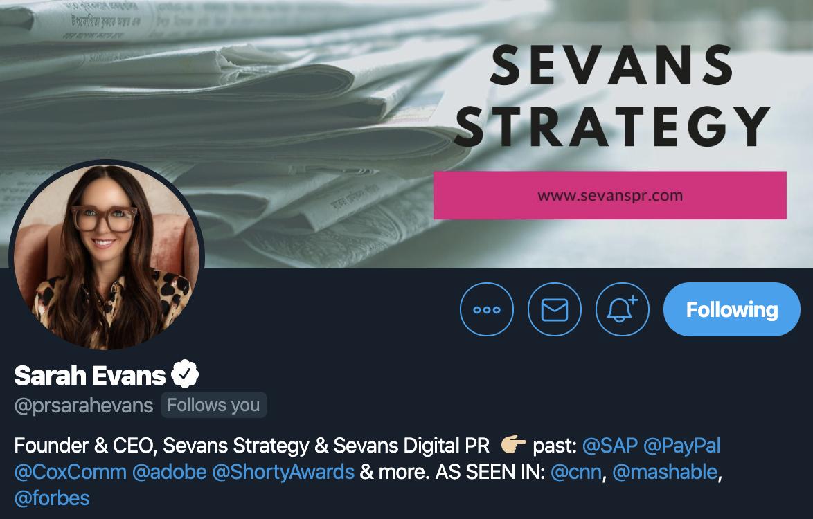 sarah-evans-twitter-profile