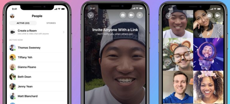 Facebook Messenger Rooms: Drop-in Video Chats With up to 50 People
