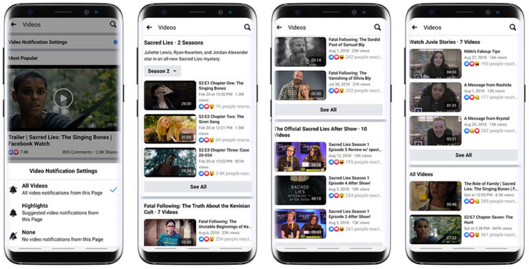Facebook Introduces New Video Publishing & Discovery Features