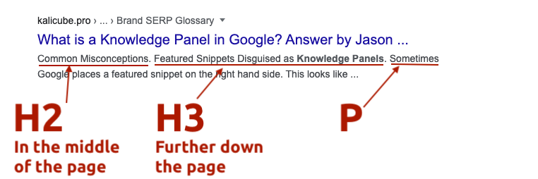 How the Bing Q&A / Featured Snippet Algorithm Works