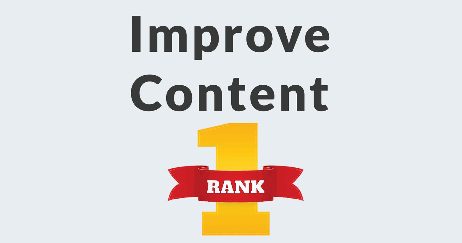 Three Simple Ways to Improve Content