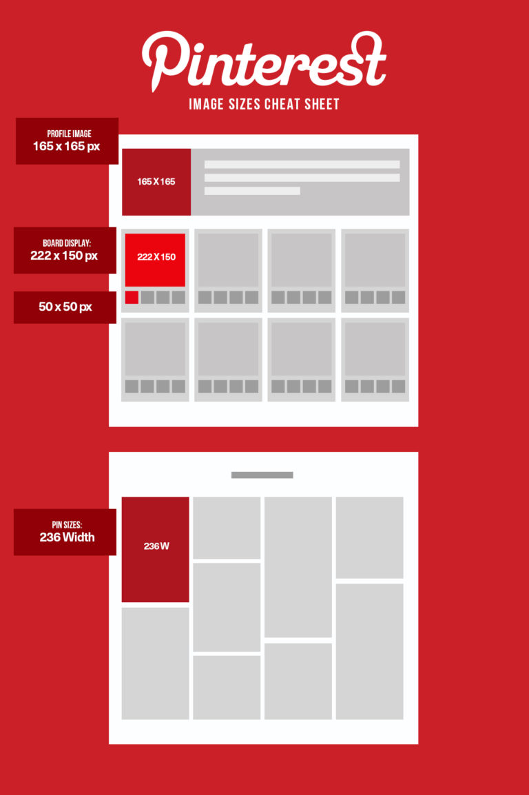 Pinterest Image Sizes 2020
