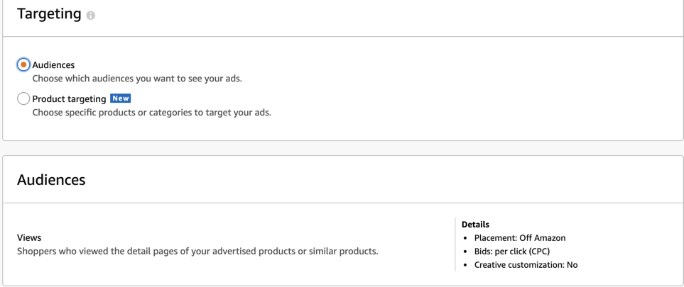 Strategies for Amazon's New Product Targeting on Seller Central