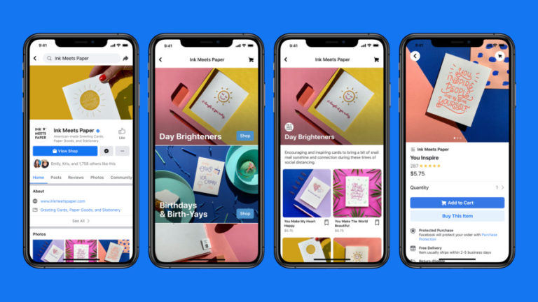 Facebook & Instagram Let Businesses Sell Products Directly on Their Page