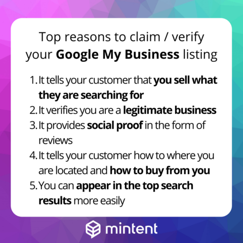 Reasons why a Google My Business Listing is Useful.