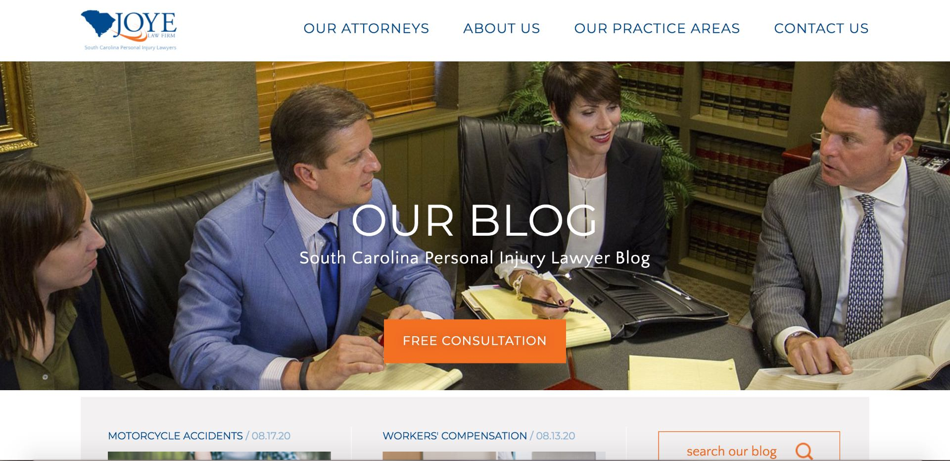 Lawyer blog helps keep content relevant for searchers