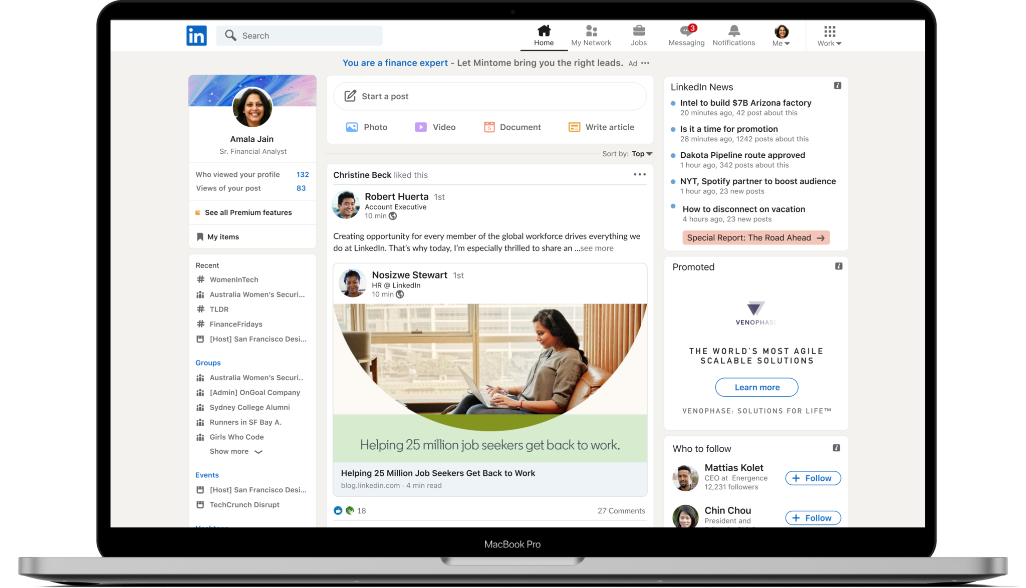 LinkedIn Rolls Out Redesign With Stories + More