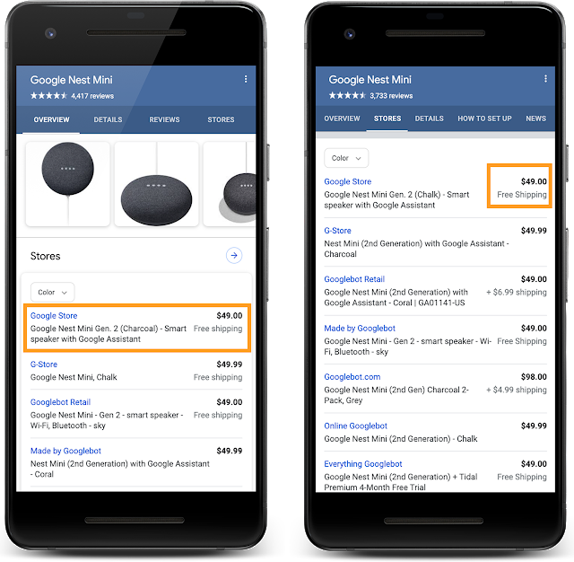 Google Supports New Structured Data for Retailers
