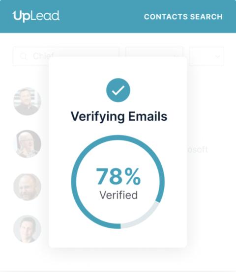 Uplead Email Verification