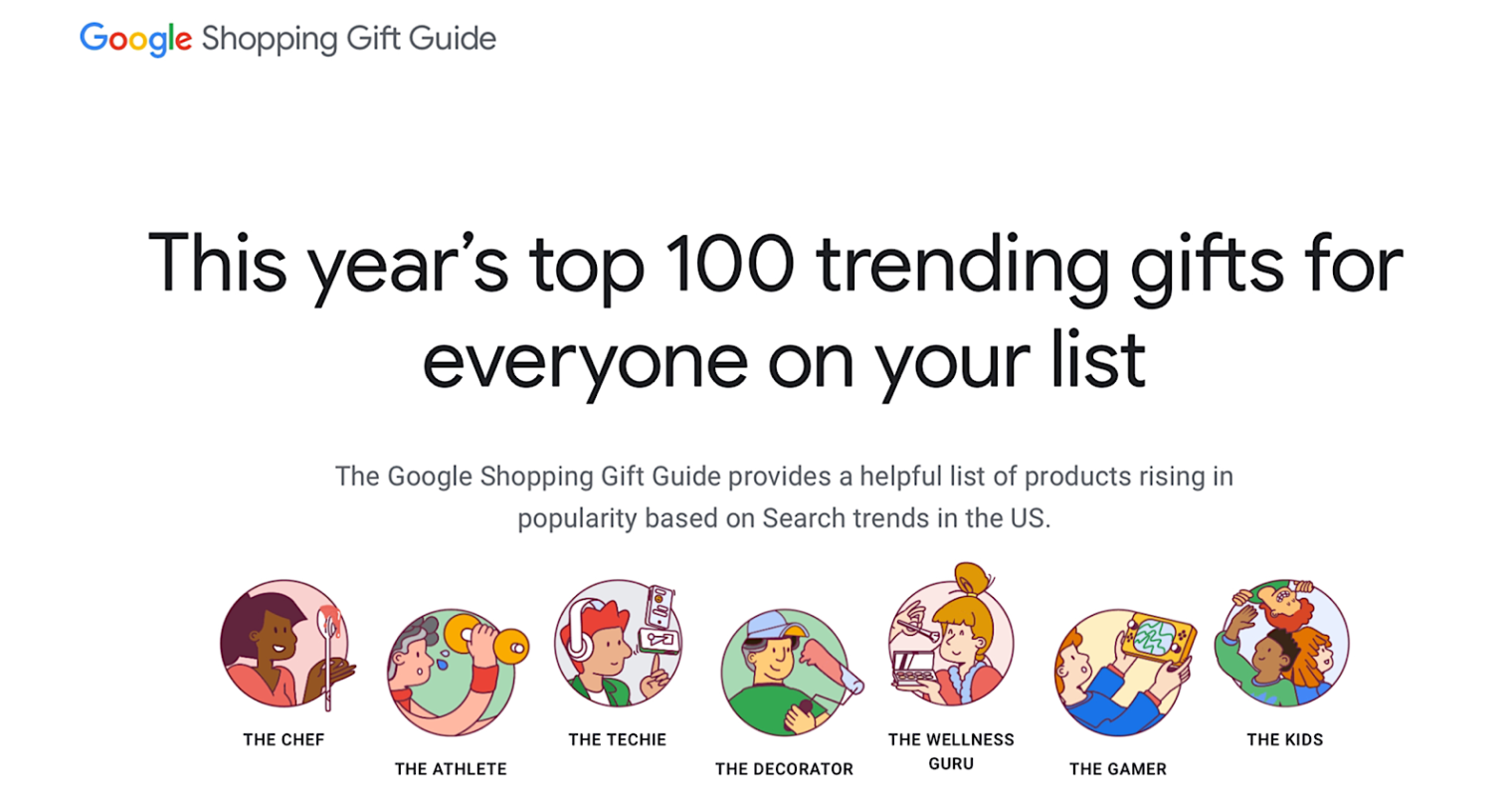 Google Data: Top Holiday Shopping Searches