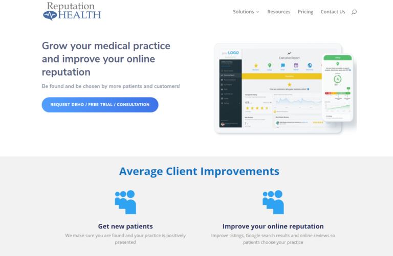 Gestion de la réputation des organisations de soins de santé - un exemple.