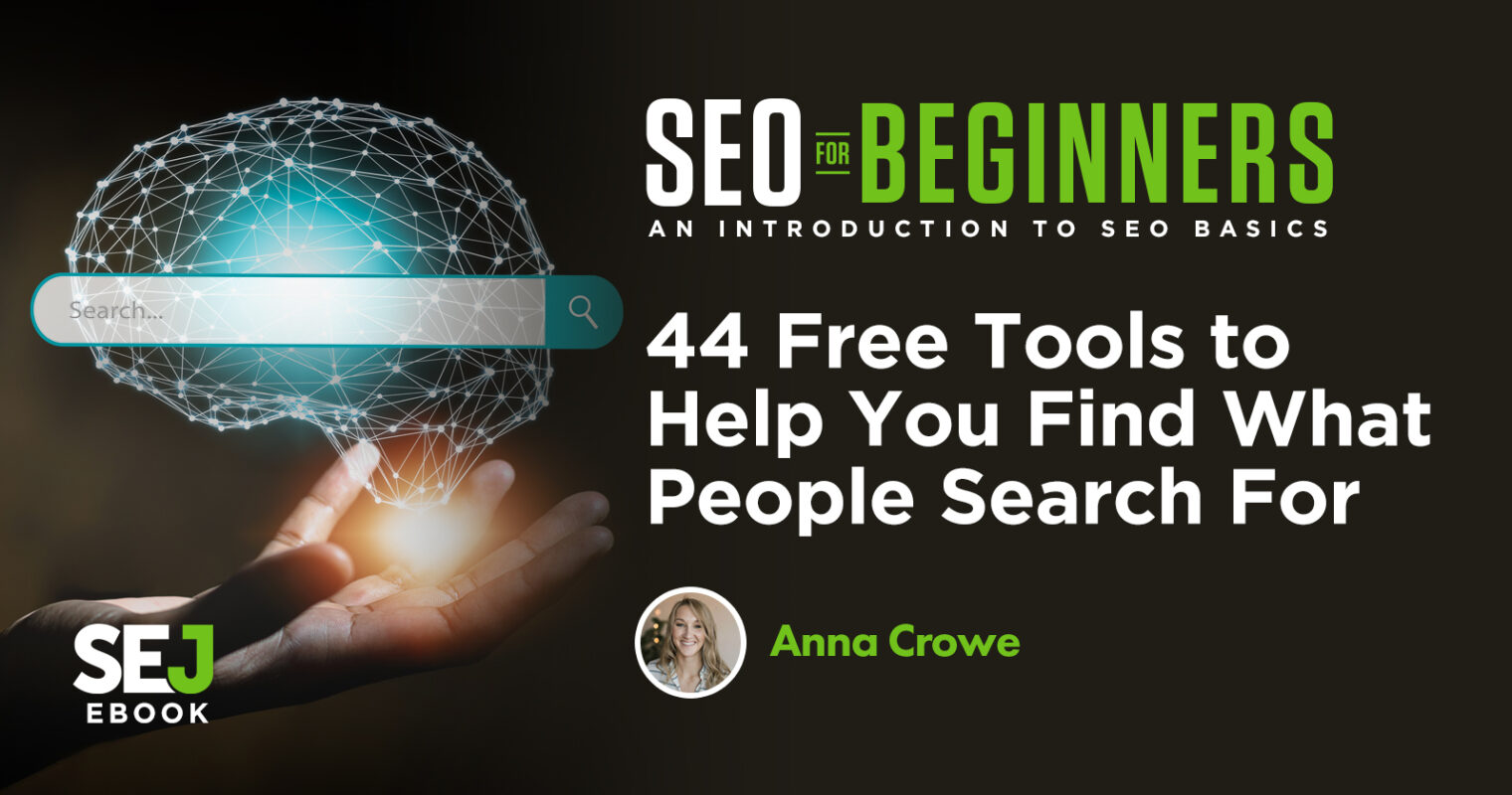 44 Free Tools to Help You Find What People Search For