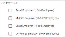 Target by company size in Google Ads