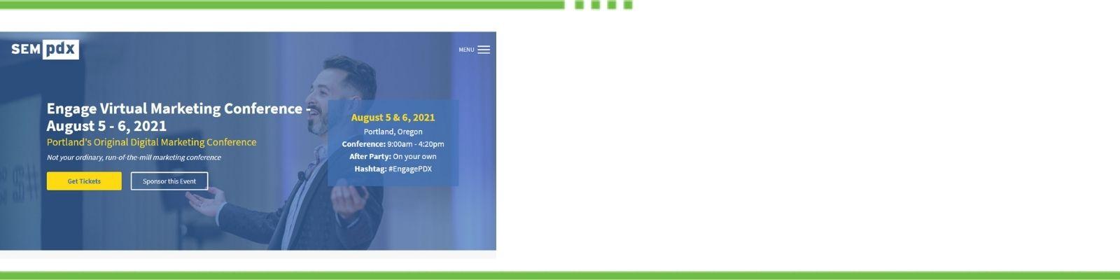 SEM PDX Engage Virtual Marketing Conference