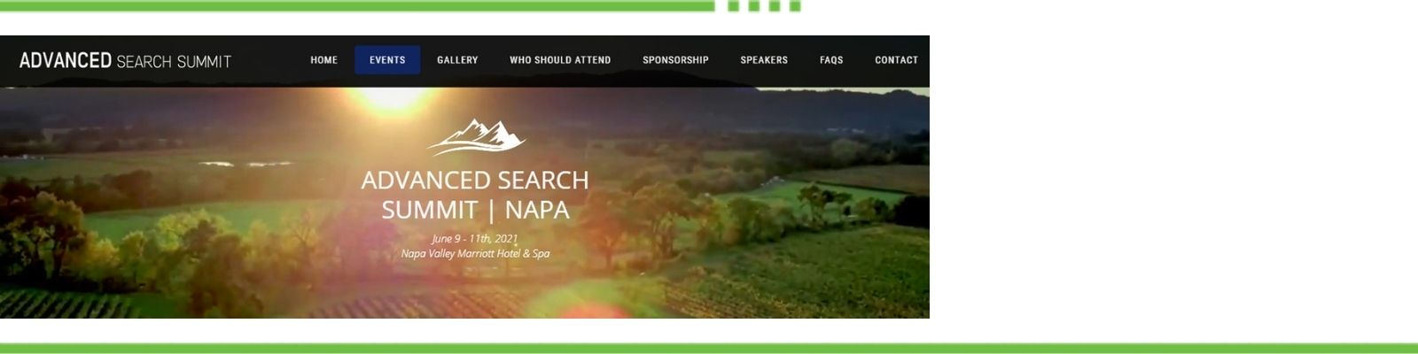 Advanced Search Summit Napa