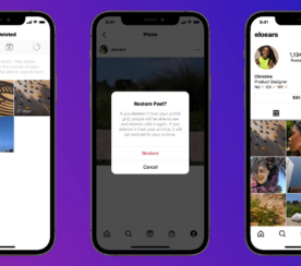 Instagram Adds 'Recently Deleted' Folder For Removed Content
