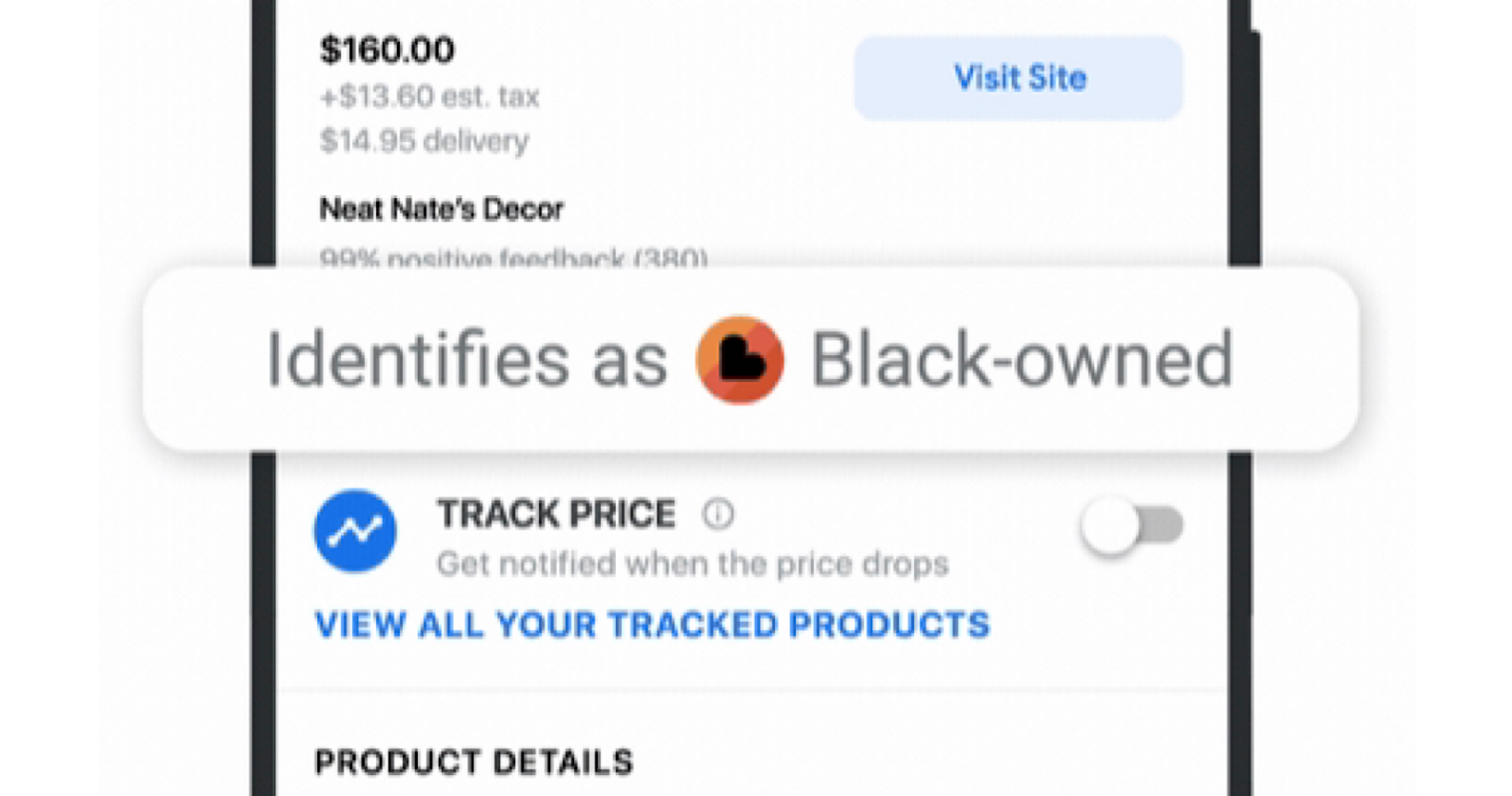 """Google Updates Shopping Search Results With """"Black—owned"""" Label"""