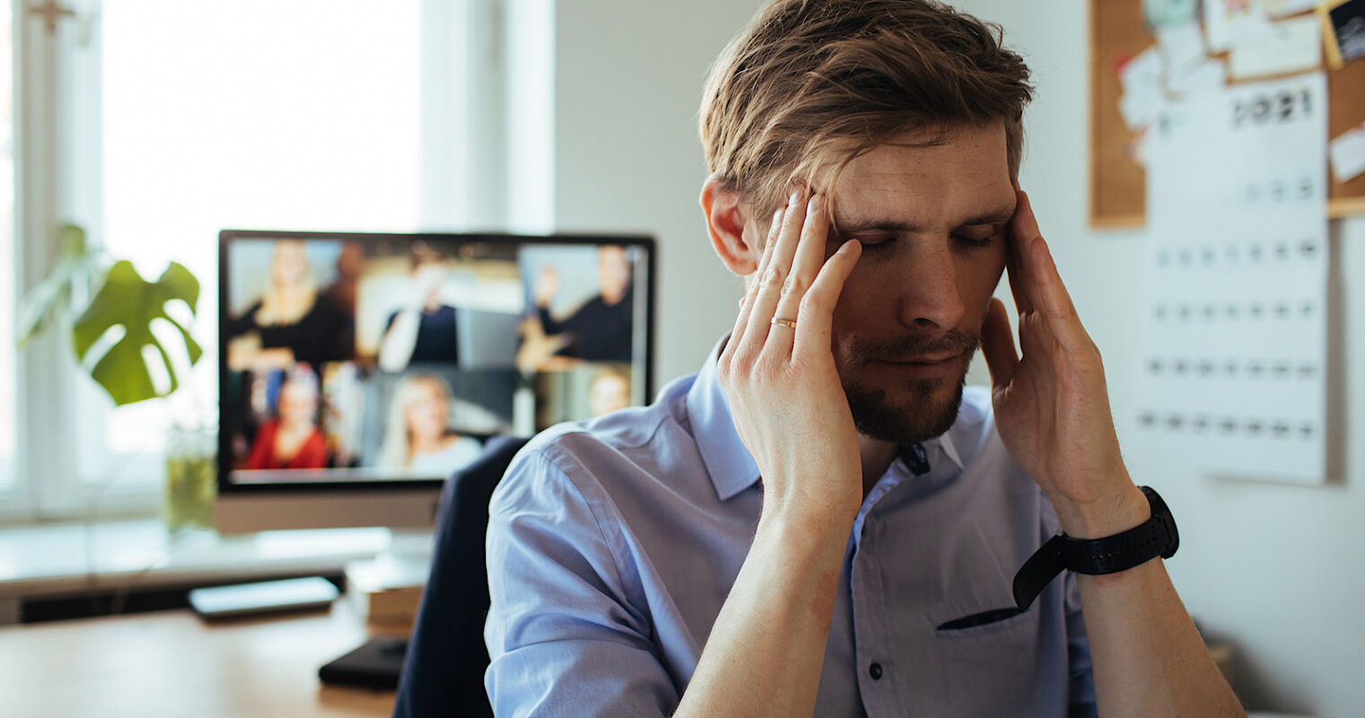 Study Finds 4 Negative Effects of Too Much Video Conferencing