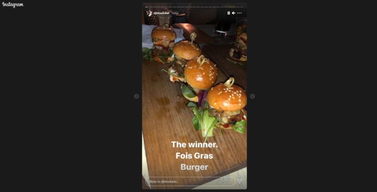 DJ Bliss Food - Instagram best practices