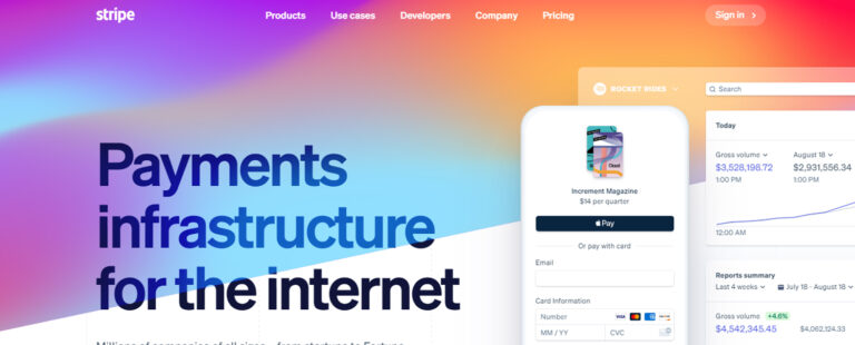 Use Stripe for online payments