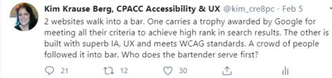 Kim Krause Berg accessibility tweet
