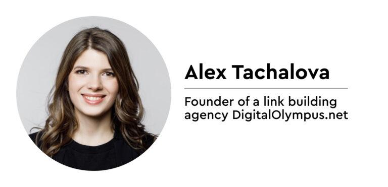 Alex Tachalova on linking building questions - Women in SEO