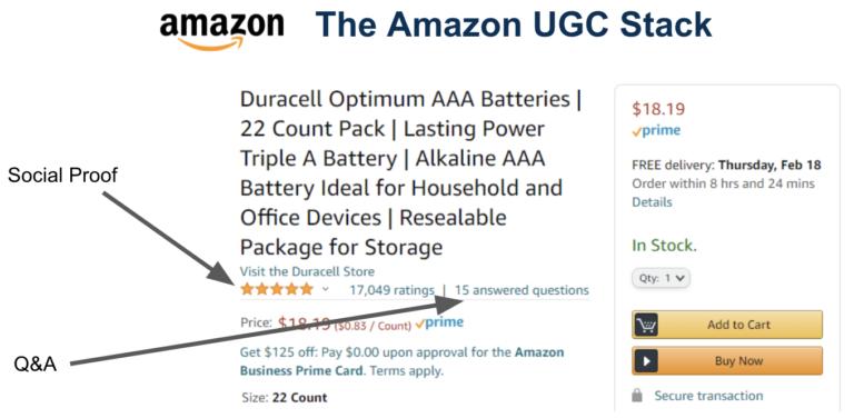 Amazon UGC Stack