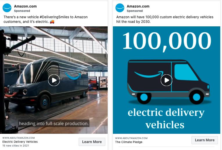 Amazon Vehicle Ads