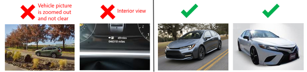 Good vs Bad Automotive Feed Images