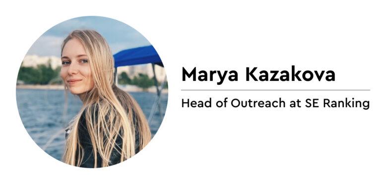 Marya Kazakova on outreach for link building: Women in SEO
