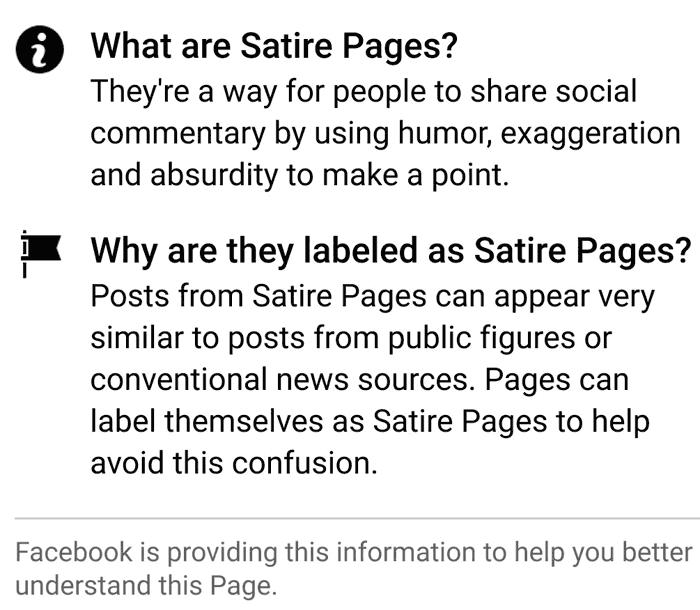 Facebook将上下文标签添加到新闻源中看到的页面