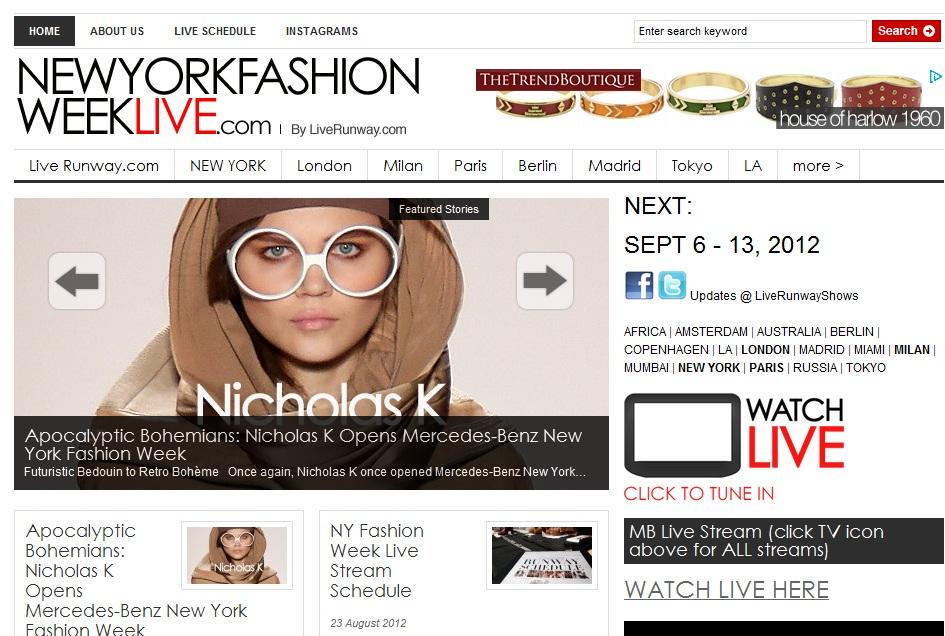 New Fashion Week Live